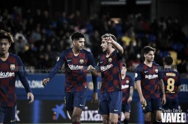 El Barça B tropieza en Tarragona