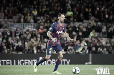 Busquets, el quinto jugador con más partidos en el Barça