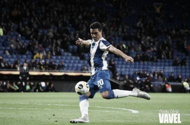 Bernardo, jugador del RCD Espanyol. FOTO: Noelia Déniz