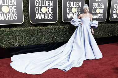 Lady Gaga en los Golden Globe Awards | Foto: Facebook Oficial de A Star is Born