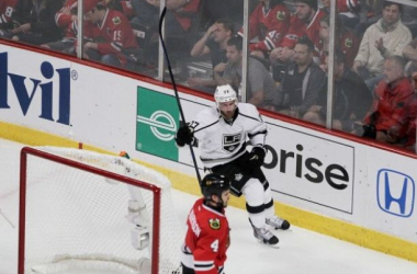 Jeff Carter was the Game 2 hero for the Kings, registering a hat trick in their triumphant third period Wednesday night.