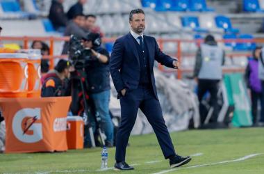 Rafael Puente está listo para el encuentro ante Dorados de la Copa MX | Foto: Club Querétaro