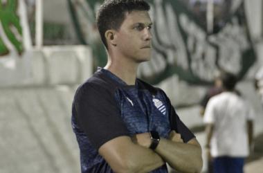 Maurício Barbieri lamenta revés do CSA, mas acredita em evolução nos próximos jogos