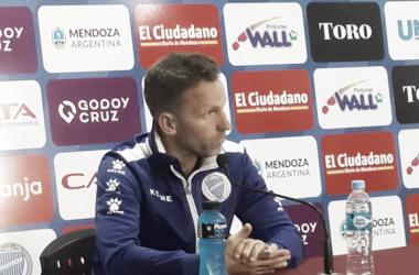 Lucas Bernardi: ''Se busca competir en igualdad de condiciones''