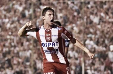 El gol que dio la clasificación. Foto: Sin Mordaza.