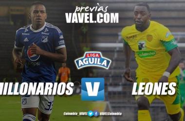 Previa Millonarios vs Leones FC: última oportunidad para mantener opciones