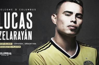 Zelarayán, nuevo Designated Player para el Crew