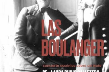 "Ana Hernández-Sanchiz estrena la obra ""Las Boulanger"""