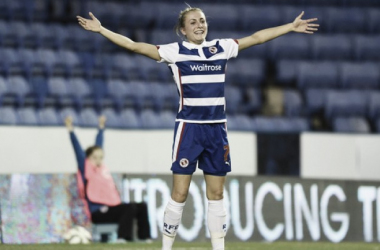 Emma Follis continuing to score will be key for Reading's season | Photo: FA WSL