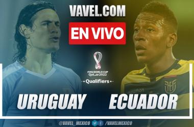Resumen y gol: Uruguay 1-0 Ecuador en la jornada 10 por Eliminatorias 2022