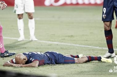 La falta de gol pasa factura en la SD Huesca