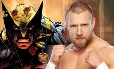 "Daniel Bryan and Wolverine are a match. Who else is there? image source ""marvel.com"""
