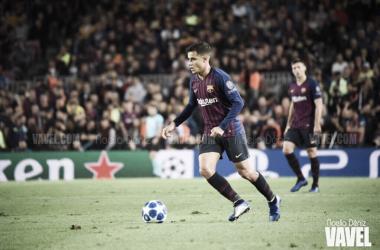 Philippe Coutinho durante un partido de UEFA Champions League | Foto de Noelia Déniz, VAVEL