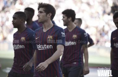 Sergi Roberto será baja entre tres y cuatro semanas | Foto: Noelia Déniz (VAVEL.com)