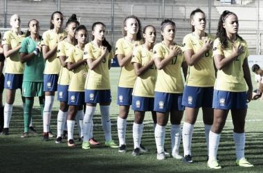 Seleção Feminina Sub-17 vence Peru e assume liderança no Sul-Americano