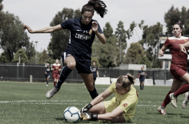 Christen Press scored a hat trick in Utah Royals FC's win  on March 23rd.