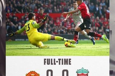 Premier League, pareggio a reti inviolate tra Manchester United e Liverpool