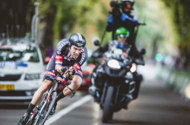 Dumoulin es uno de los jóvenes que querrá dar la sorpresa. | Foto: Jim Fryer / Brake Through Media