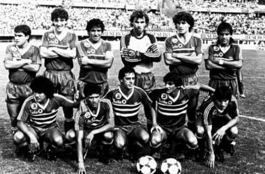 Los 11 jugadores titulares de aquella gloriosa tarde en el Monumental. Foto: La Página Millonaria.