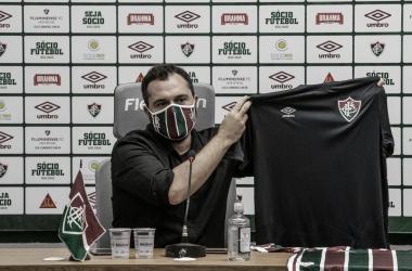 Fluminense fará duas homenagens com uniforme diante do Volta Redonda