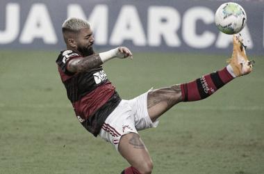 Gabigol tem lesão na coxa confirmada e vira dúvida para encarar Barcelona de Guayaquil