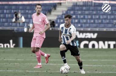 Imagen del partido de ida entre Mallorca y Espanyol | Foto: RCD Espanyol