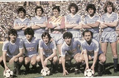 El equipo de Temperley en el año 1988.