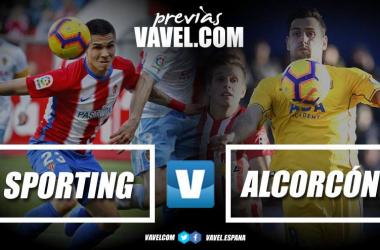 Previa Sporting - Alcorcón | Fotomontaje VAVEL