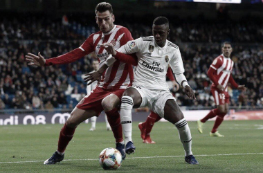 Vinicius, el mejor ante Girona / Foto: Real Madrid CF