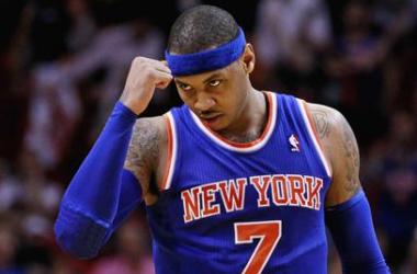 Carmelo faz 50 pontos em Miami e Knicks vence Heat