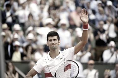 Novak Djokovic nunca perdió en primera ronda sobre la arcilla parisina. | Foto: Prensa RG