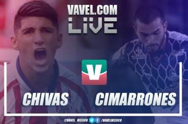 Resultado Chivas 1-1 Cimarrones por Copa MX 2019