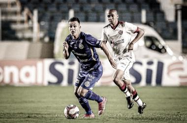 Os dois times ficaram no empate em 1 a 1 pelo primeiro turno (Foto: Lucas Almeida / AD Confiança)