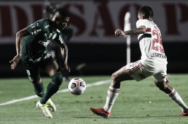 Com pequena vantagem, Palmeiras recebe São Paulo pela volta das quartas da Libertadores