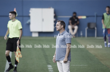 Sergi Barjuan en el Johan Cruyff. | Foto: Noelia Déniz