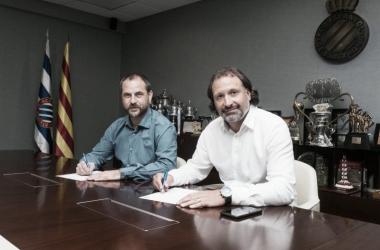 """Rufete: """"Los jugadores deben sentir el escudo y el club, no puede haber medias tintas"""""""