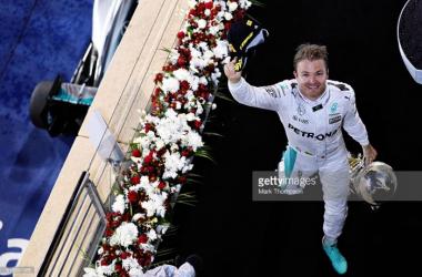 Rosberg levou a melhor no Bahrein