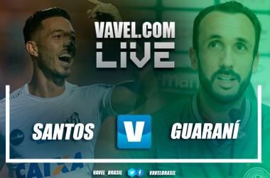 Santos x Guarani vence no Campeonato Paulista (3-0)