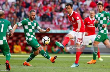 Benfica recebe Moreirense