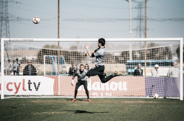 El Real Valladolid ya prepara el duelo frente al R.C.D Espanyol, Fotografía: Real Valladolid