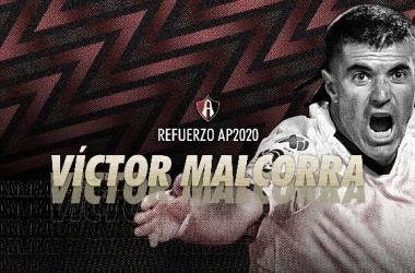 Víctor Malcorra es nuevo refuerzo de Atlas