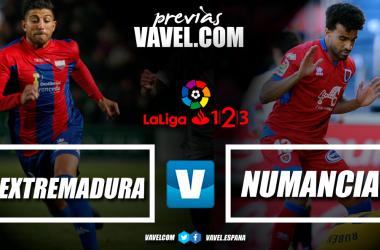 Previa Extremadura - Numancia // Fotomontaje VAVEL