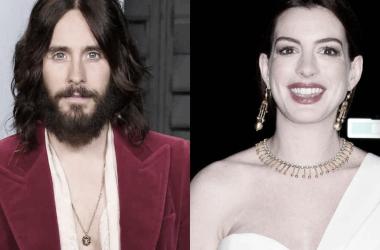 Anne Hathaway y Jared Leto fichan por Apple+