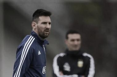 """Lionel Messi: """"No somos candidatos como otras veces"""""""