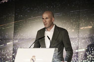 Zidane Zidane en su presntación | Foto: Federico Titone