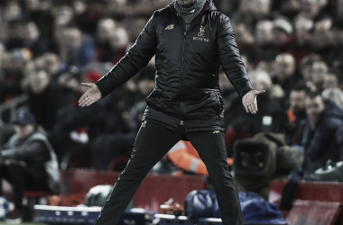 Klopp vivió con su característica intensidad un partido que su Liverpool manejó de principio a fin. (Foto: Ian Hodgson/Daily Mail)