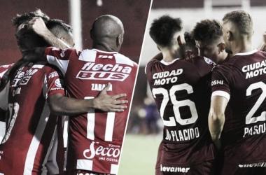 Previa Unión vs. Lanús: en busca de la Copa Sudamericana 2020. Foto: Infobae.
