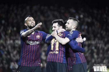 Octavos de final, Champions League. Camp Nou, 13/03/2019 | Foto: Noelia Déniz VAVEL