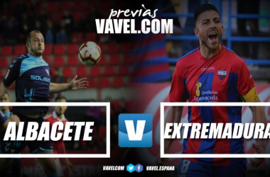 Previa Albacete - Extremadura // Fotomontaje VAVEL