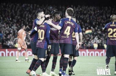 Octavos de final de Champions League, Camp Nou | Foto: Noelia Déniz VAVEL